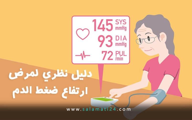 دليل نظري لمرض ارتفاع ضغط الدم